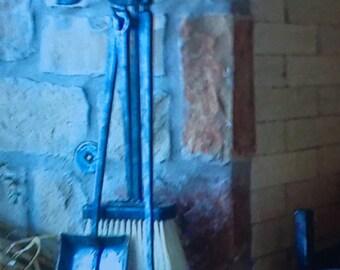 Fireplace tools, Rope twist handles