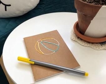 Beach Ball Pocket Notebook