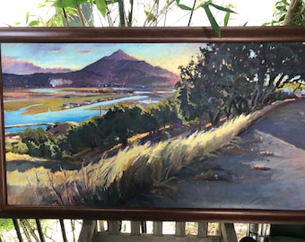 Mount Tamalpais Painting in Marin County California