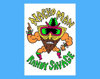 Nacho man Randy Savage card