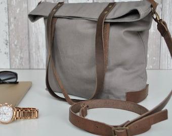 Umhänge  Tasche, Canvas Tasche, wasserabweisend, Leder Tasche, UNISEX Tasche, Handtasche, Laptop Tasche, Reise Tasche, Wickeltasche, Damen