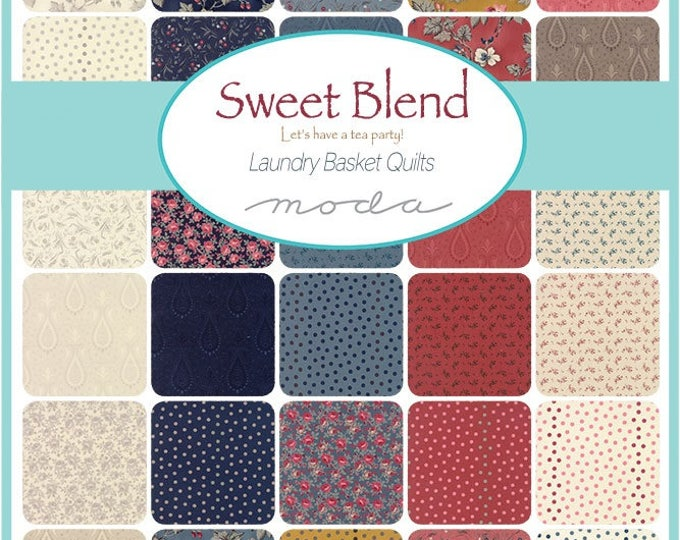 Sweet Blend from Laundry Basket Quilts - Layer Cake