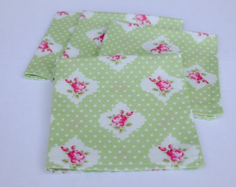 Cloth Napkins (Set of 4) Light Green