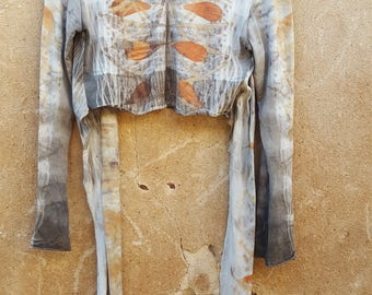 Merino Wool Wrap Naturally Dyed Top