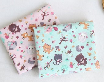 """Laminated Cotton Fabric by the yard Peutti BeBe_43.3"""" wide 150049"""