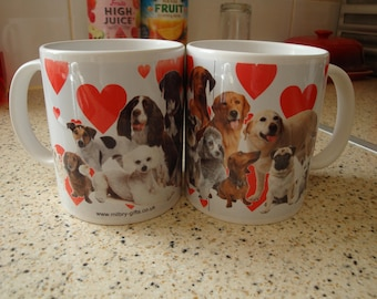 Love Dogs? Then own one of these Beautiful Mugs'