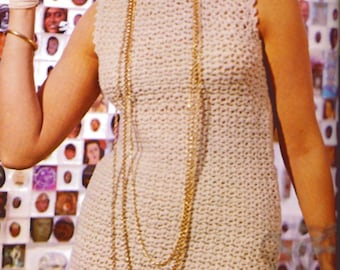 Crochet Dress Pattern PDF