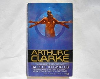 Tales of Ten Worlds by Arthur C. Clarke Vintage 1987 Paperback Book