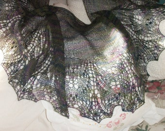 Faerie Kissed Romance - Lace Shawl