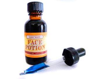 Potion de visage pour revitaliser, régénérer et rendre la peau rayonnante