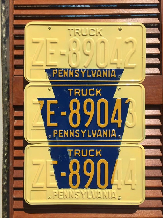 Keystone Plates: Pennsylvania License Plate Wall Art
