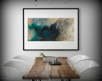 Wall Art Print Large Canvas Abstract Art Abstract Print Large Prints Livingroom Print Office Decor Bedroom Art Gift for Friend LDawningScott