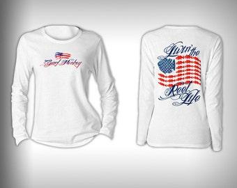 Fishing TShirt, T-Shirt, Womens Fishing Shirt, Fishing Graphic Tee, Fishing gift for women, Fishing shirt, Fishing tee, Reel Life