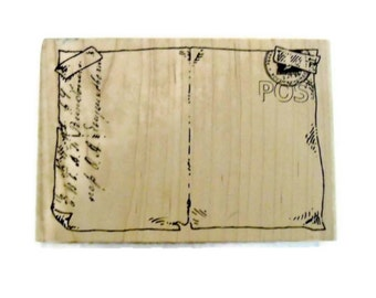 Postcard Stamp Stampers Anonymous