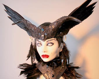 Raven Witch crown