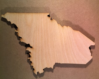 Maine Sign ME Wooden Cutouts - Large Sizes - Shapes for Projects or Other Use