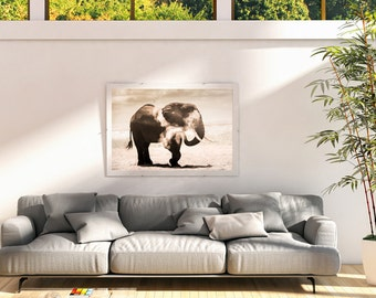 Elephant Fine Art Print - African Wildlife - Animal Lovers Gifts - Wild Animals - Nature Print - Elephant Art - Wall Art - Limited Edition