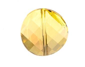 Crystal Verde 5621 - Swarovski Crystal - Faceted Twist (14mm, 18mm, 22mm)