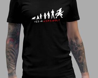 Teen Wolf Shirt - Yes Im Werewolf #R