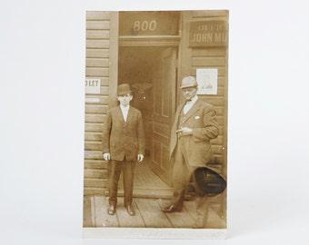 Antique Lawyer Postcard, Circa 1904, Original Postcard, Unused, Printed on AZO Kodak Postcard, RPPC