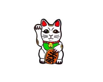 Maneki-neko Cat Pin