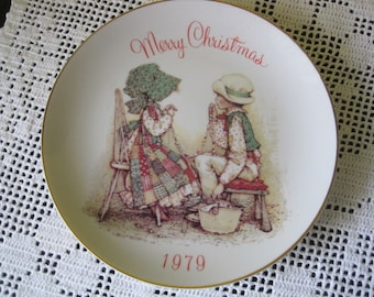 Vintage Holly Hobby commemorative Edition plate / Vintage Holly Hobby Edition commemorative Plate