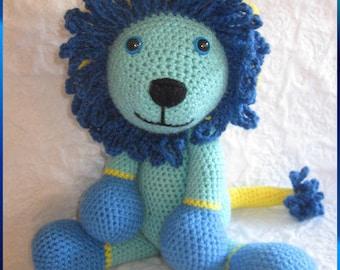 Crochet Pattern ~ Full of Fun Lion