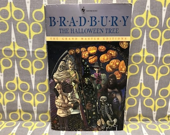The Halloween Tree by Ray Bradbury Paperback Book Classic Science Fiction Vintage