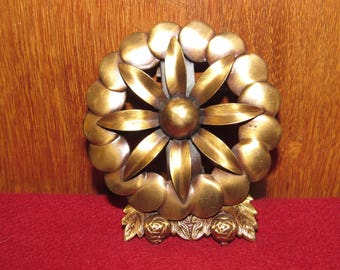 Vintage Copper belt Buckle-Kirschenbaum