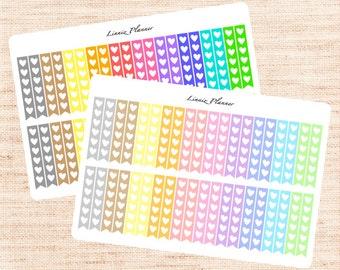 Checklist Functional Basics (matte planner stickers, Erin Condren, Happy Planner)