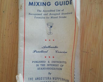 Angostura Professional Mixing Guide - 1950