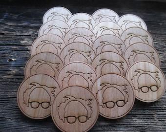 Bernie pins or magnets
