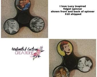 LUCY inspired fidget spinner