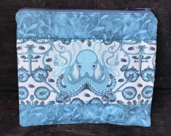 Tula Pink Octo Fabric Zippered Pouch