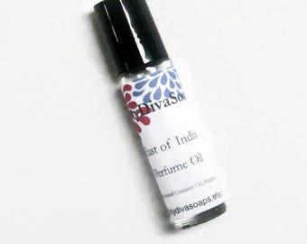 Wild Violet  Perfume Oil,   Perfume Blend.Rollerball  Perfume,