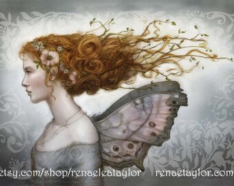 Mother of Pearl Faerie by Renae Taylor
