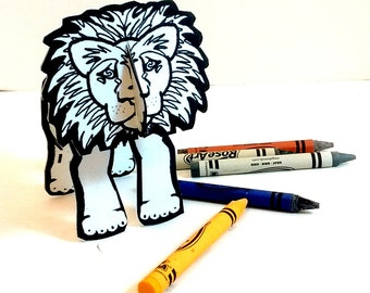 Lion - Coloring Printable  Toy