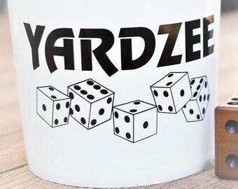 Yardzee Vinyl Decal.