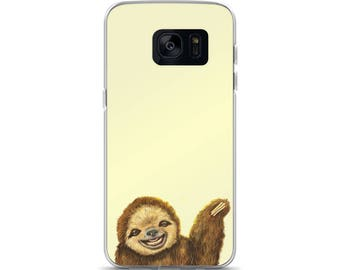 Happy Sloth Samsung Case