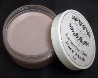 Lavender Clay Dry Skin Facial Mask