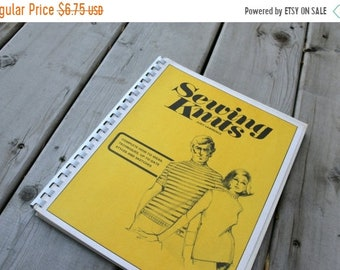 SALE SALE SALE Vintage Book Sewing Knits by Judy Lawrence