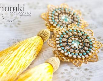Kirana /// Earrings by Jhumki - designs by raindrops