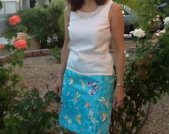 Show Some Flare Skirt - PDF Sewing  pattern