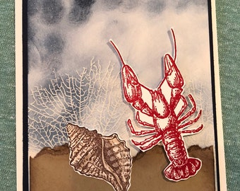 Happy Father's Day - Lobster Card