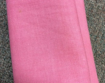 Vintage 1920's Feedsack Bubblegum Pink  Fat Quarters