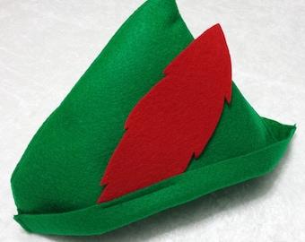 Peter Pan / Robin Hood Felt Hat