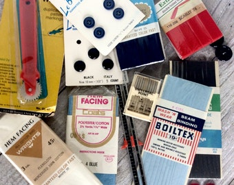 Craft supplies, Vintage Sewing Notions - S
