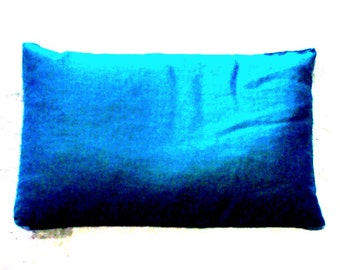 Hand Crafted Small Turquoised Print Therapeutic Rice Bag