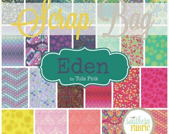 Eden - Scrap Bag Quilt Fabric Strips by Tula Pink for Free Spirit