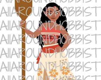Disney Moana SVG, DXF & PNG Cutting File Cricut Silhouette